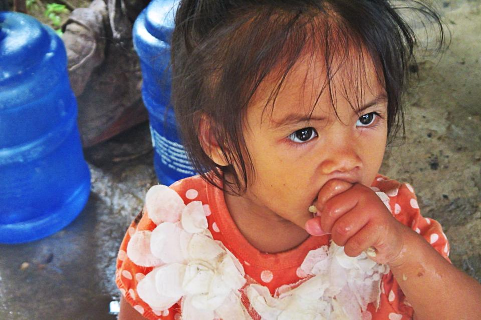 Mekong village Child