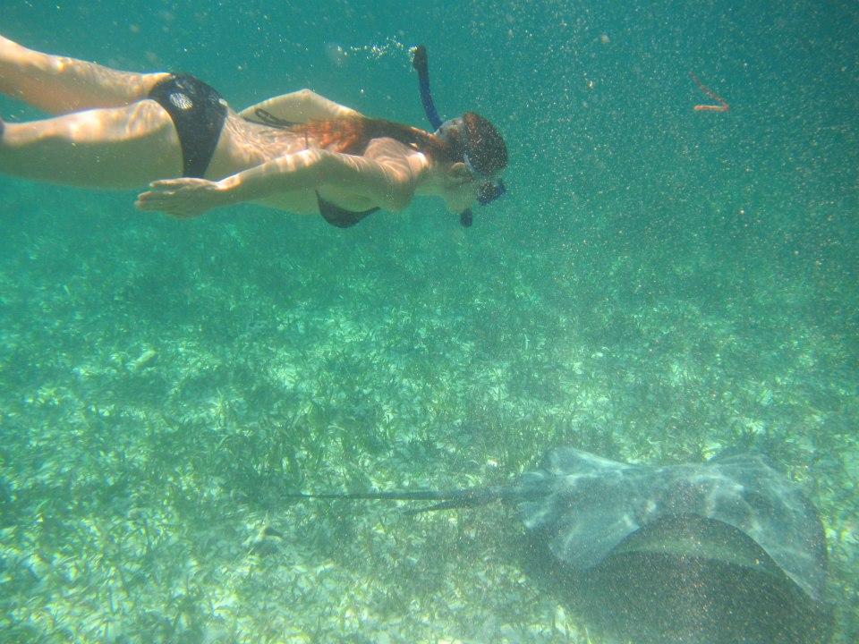 Belize, snorkelen