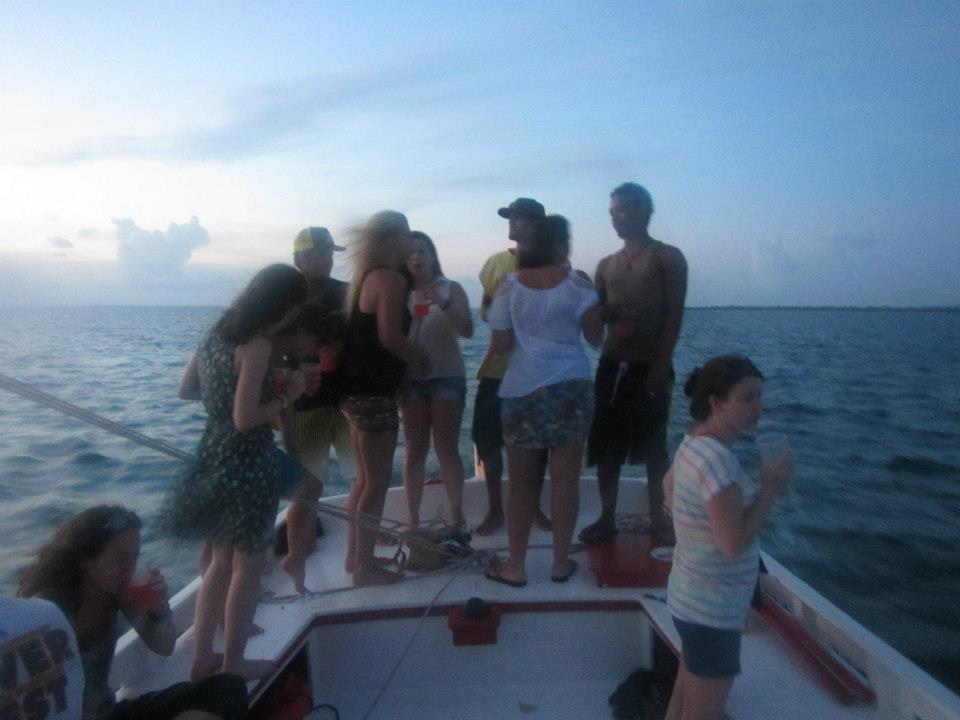 Belize Caye Caulker sailing
