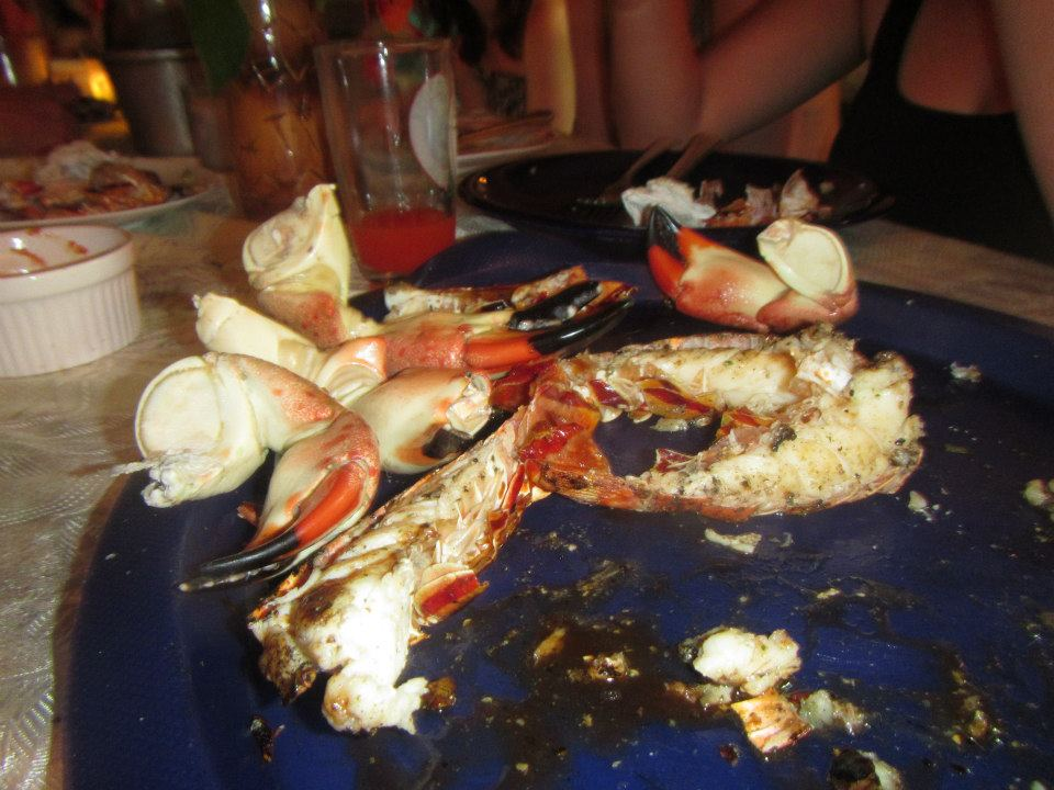 Caye Caulker food