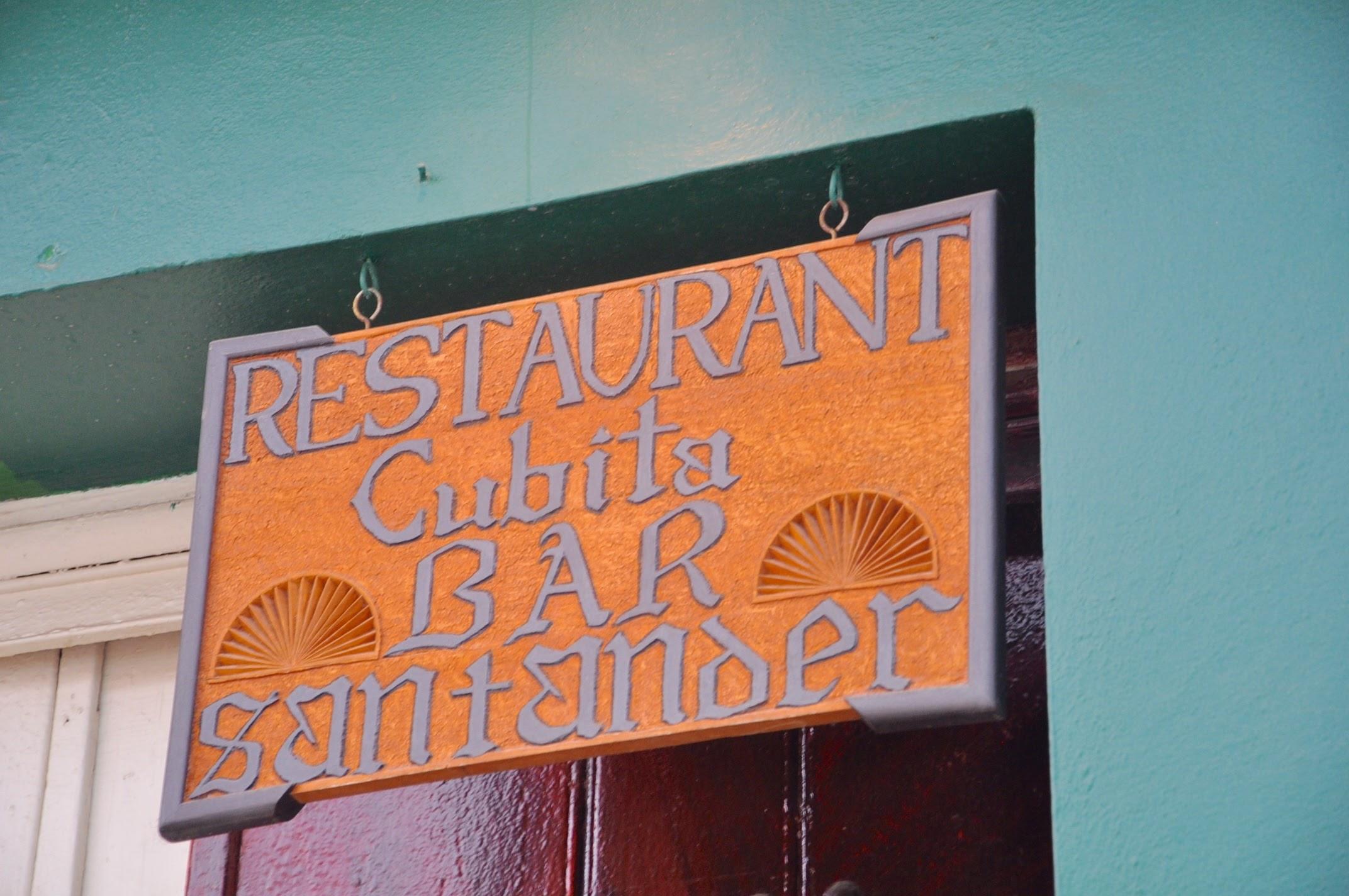 Cubita Restaurant in Cuba