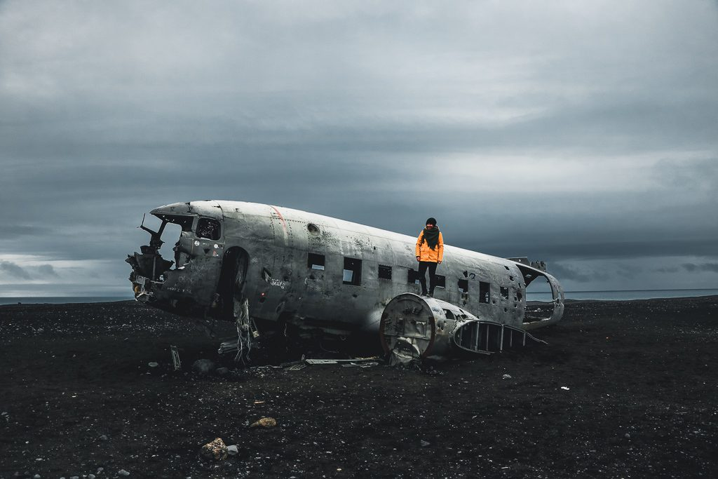 Iceland, Plane wreck