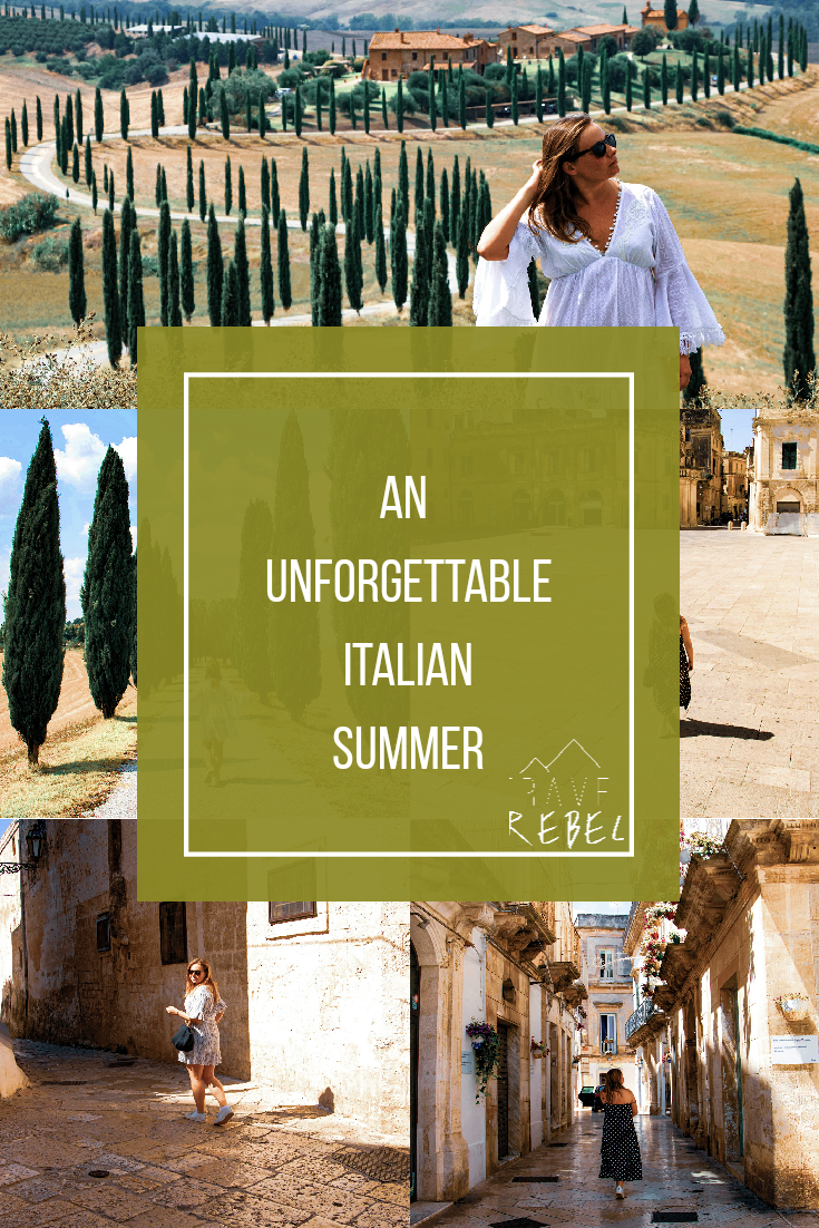 An unforgettable Italian Summer - Roadtrip in Italy