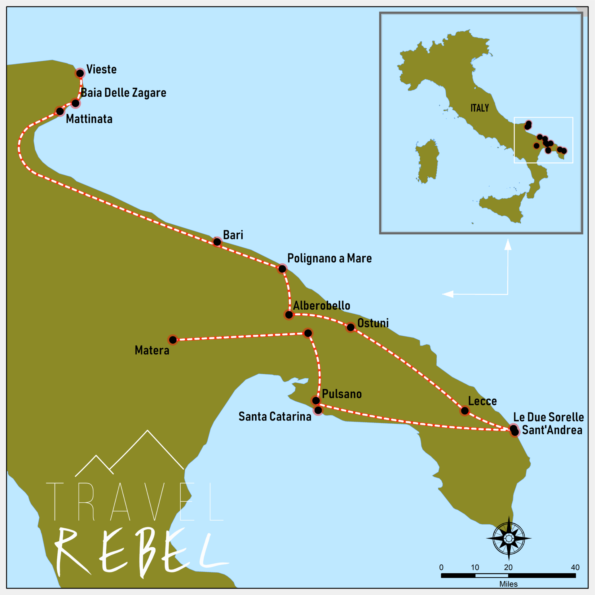 Roadmap Puglia
