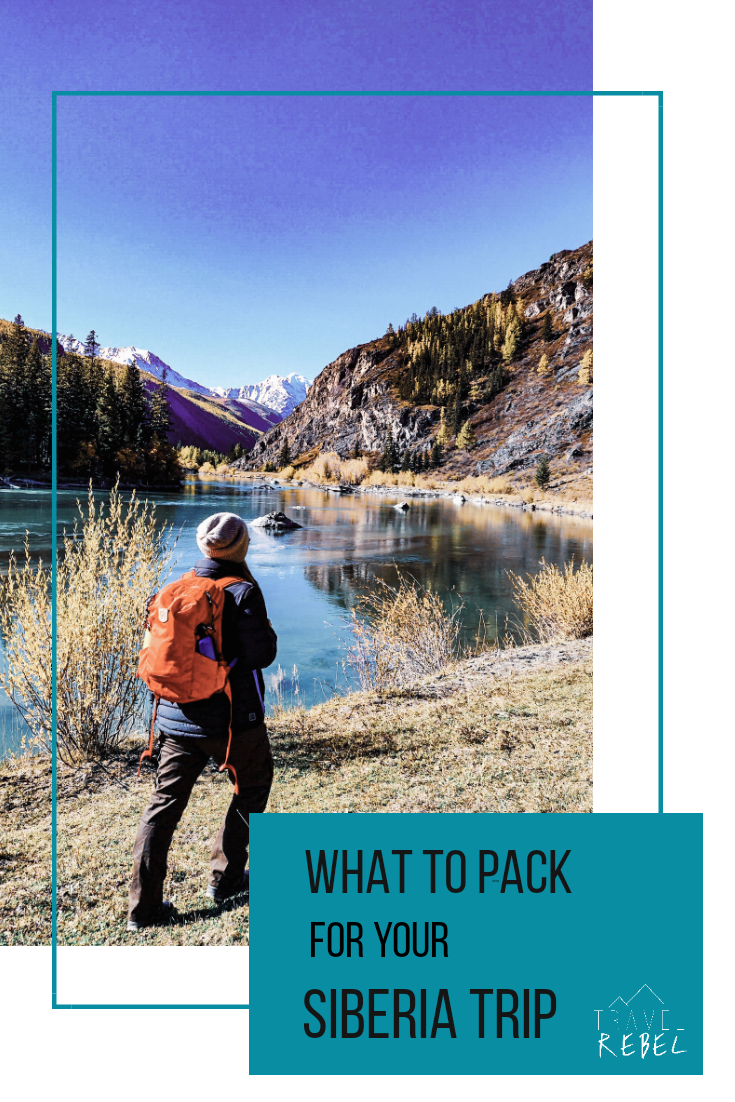 packing tips for Siberia