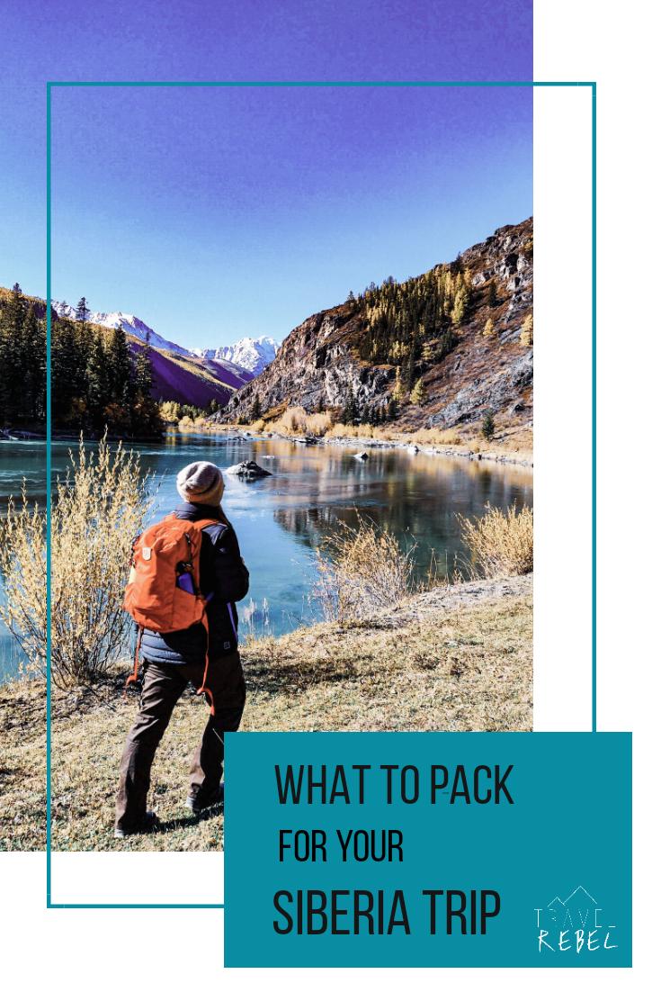 packing tips for Siberia