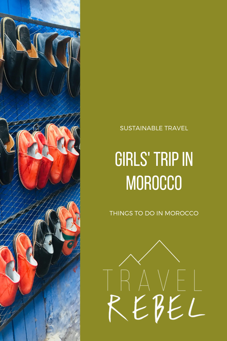 Girls Roadtrip in Morocco