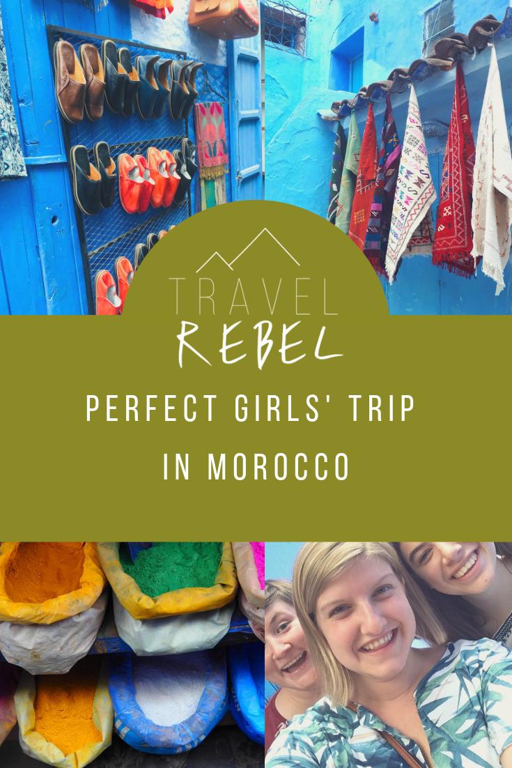 Girls trip in Morocco