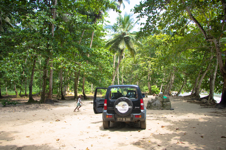 São Tomé offroad