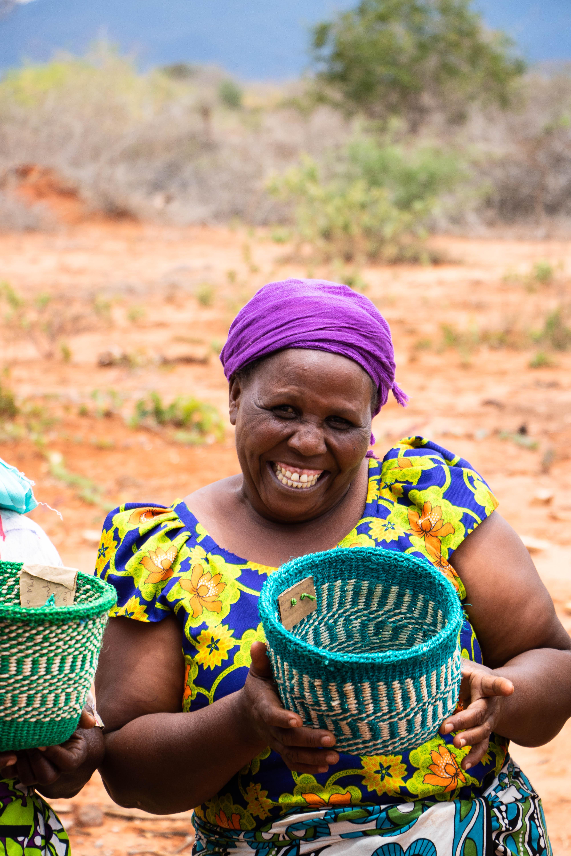 Hadithi baskets Kenya