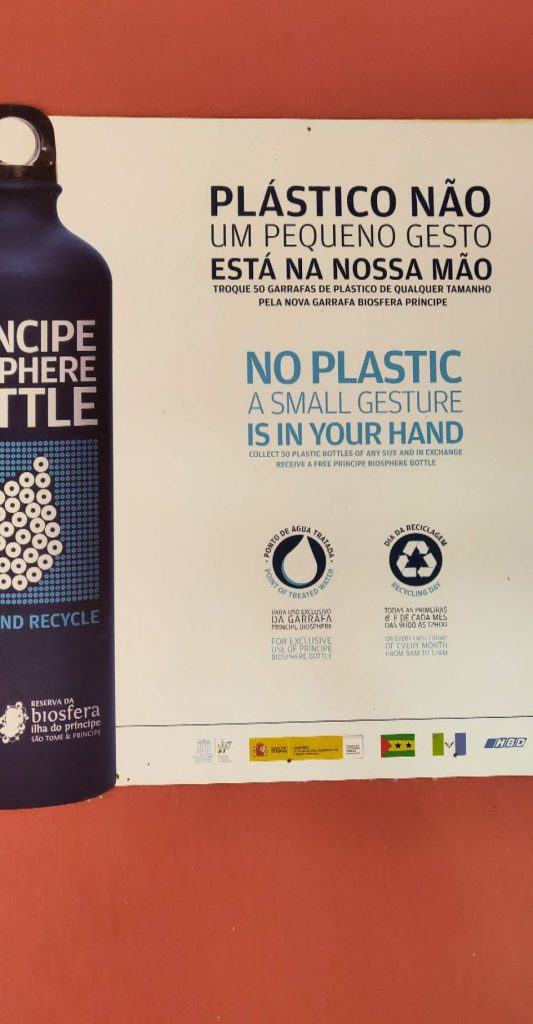 Where to stay in Sao Tome - Sustainable Tourism - Say no to single use plastic