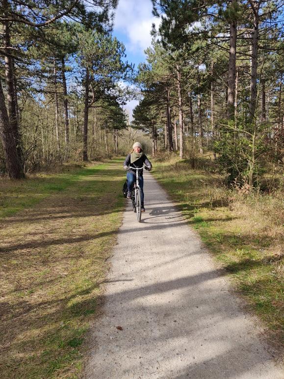 Met de fiets door Vlieland