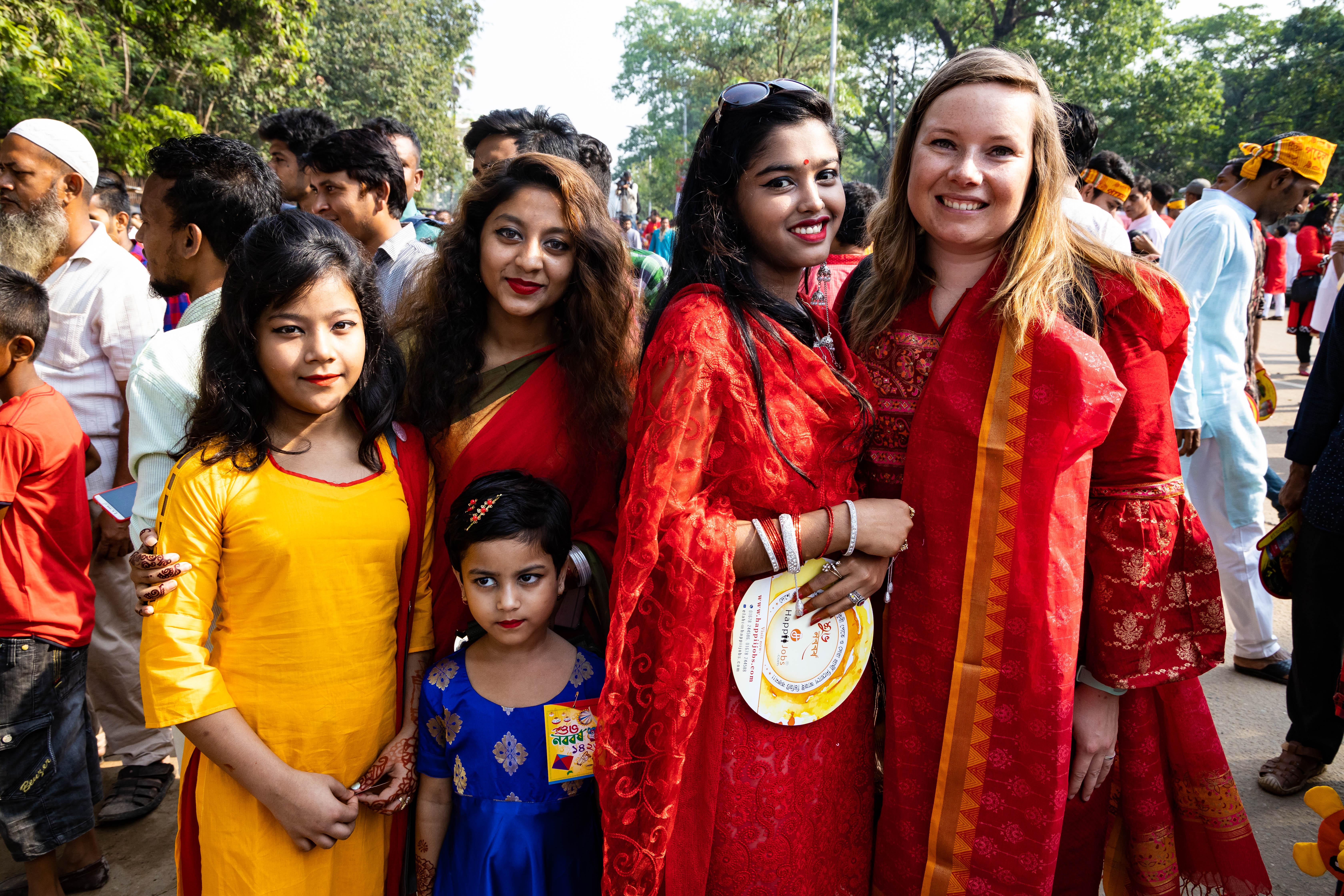 Bengaals Nieuwjaar in Dhaka