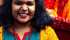 Shuvo Noboborsho - Bengaals meisje