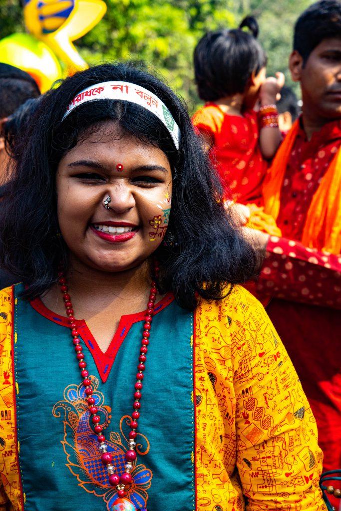 Shuvo Noboborsho - Bengali girl