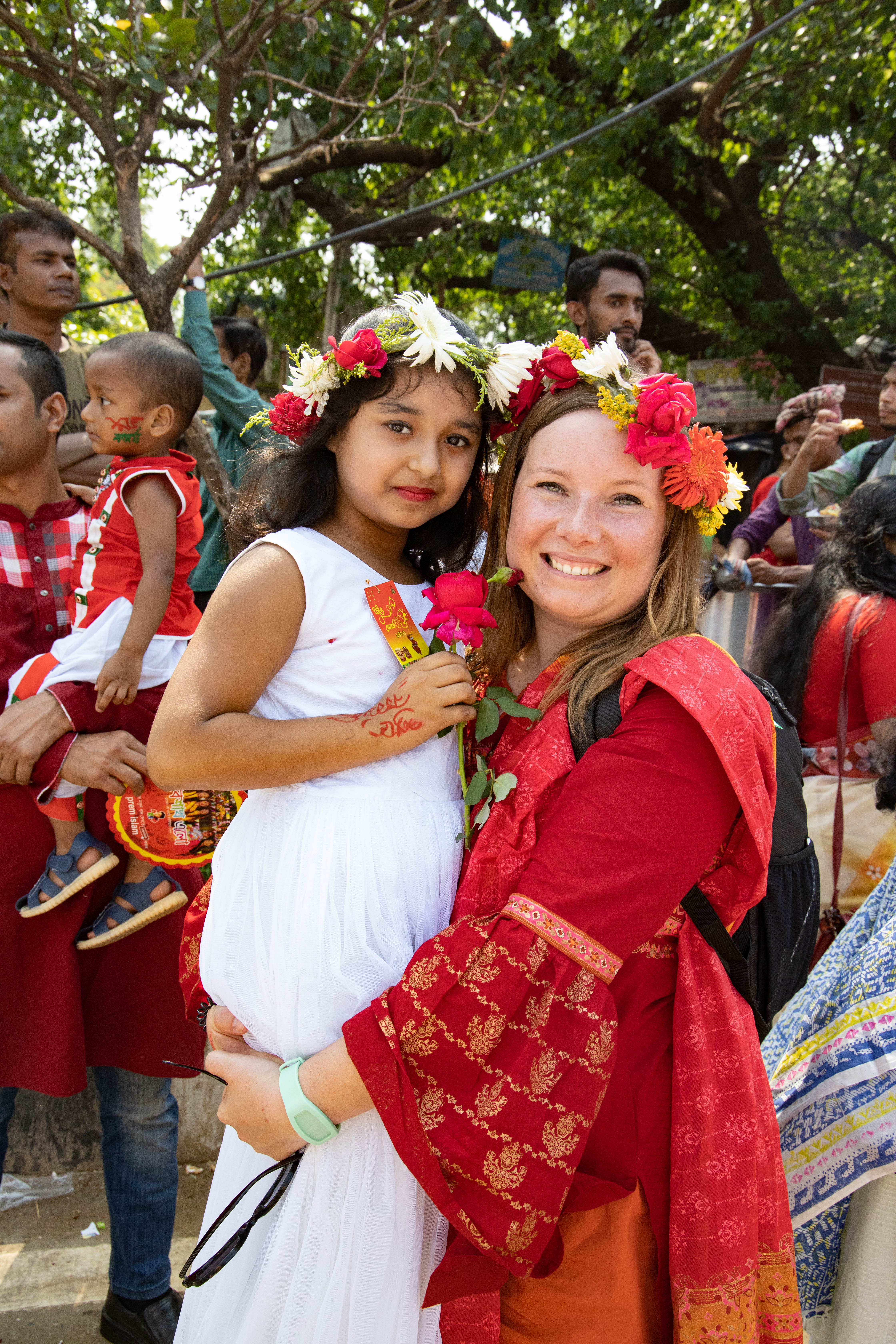 Bengaals Nieuwjaar - Traditionele kledij - Dhaka, Bangladesh