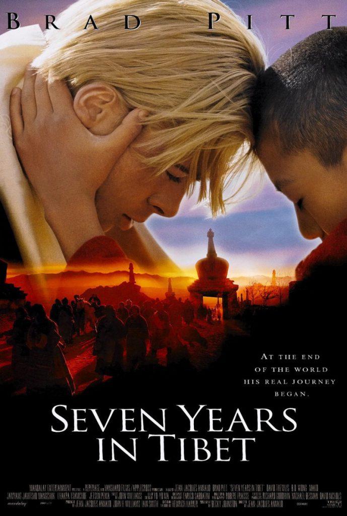 7 years in Tibet - Reis inspiratie films