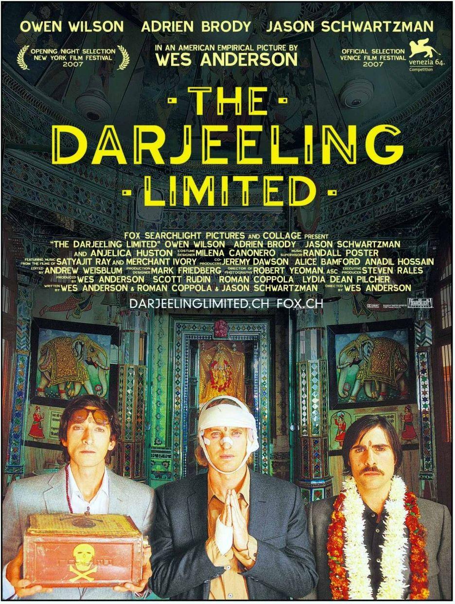 Originele reis film inspiratie - the darjeeling limited