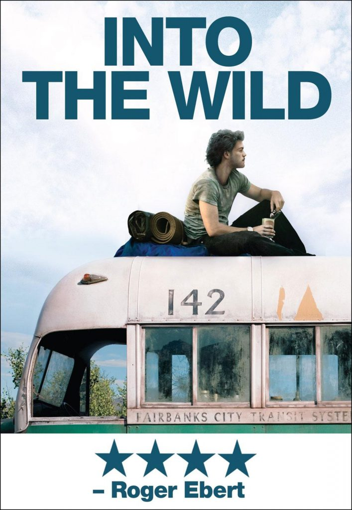 Reis inspiratie films - INTO THE WILD