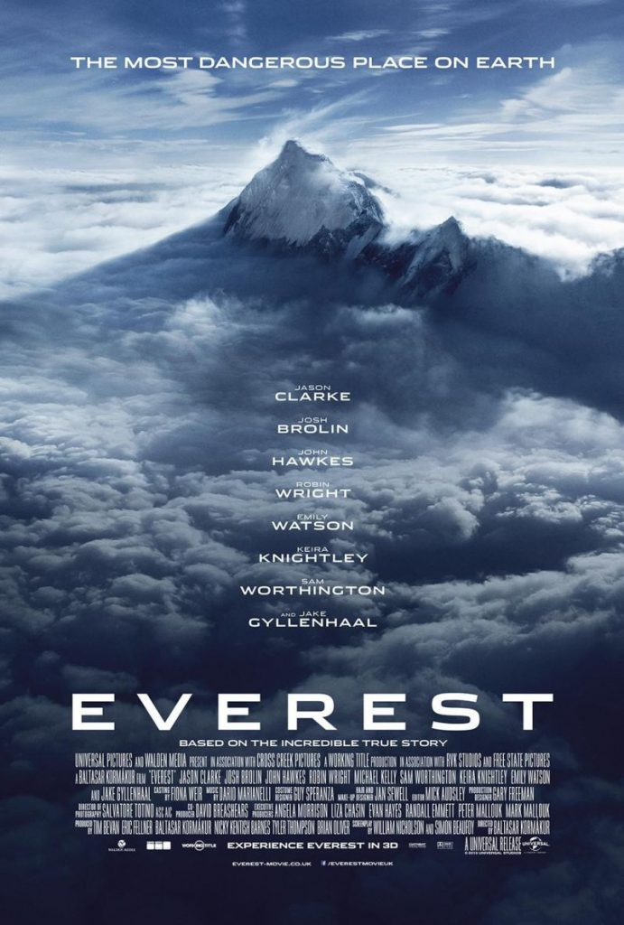 Reis inspiratie films - Everest