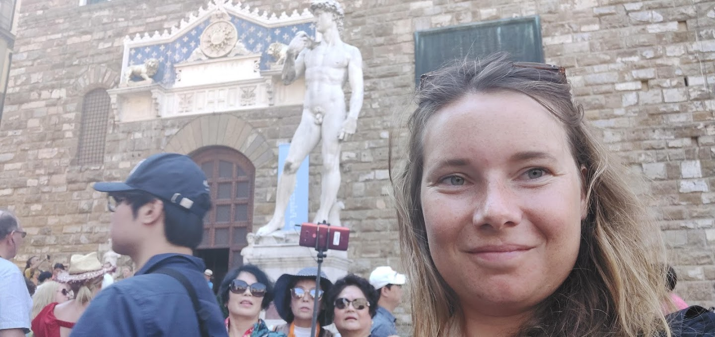 I am one of those people who literally cannot enjoy the great Goliath statue in Florence or the famous Duomo di Sienna when surrounded by an army of selfie sticks