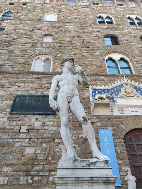 Goliath in Florence, Italy
