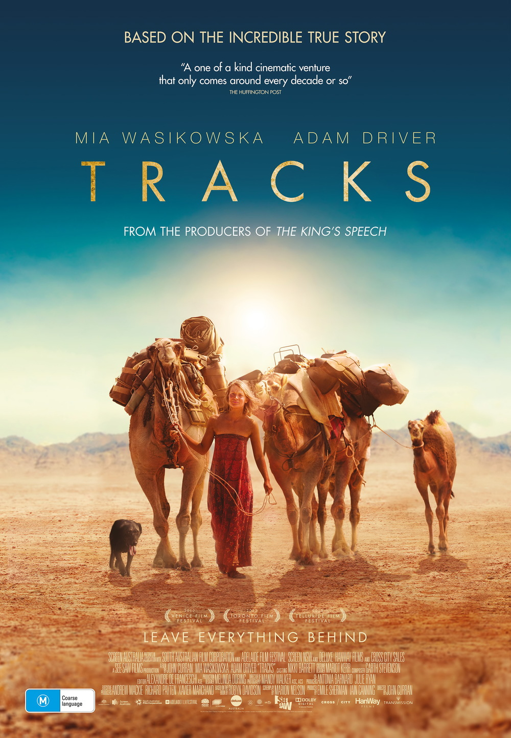 Tracks: de beste reisfilms