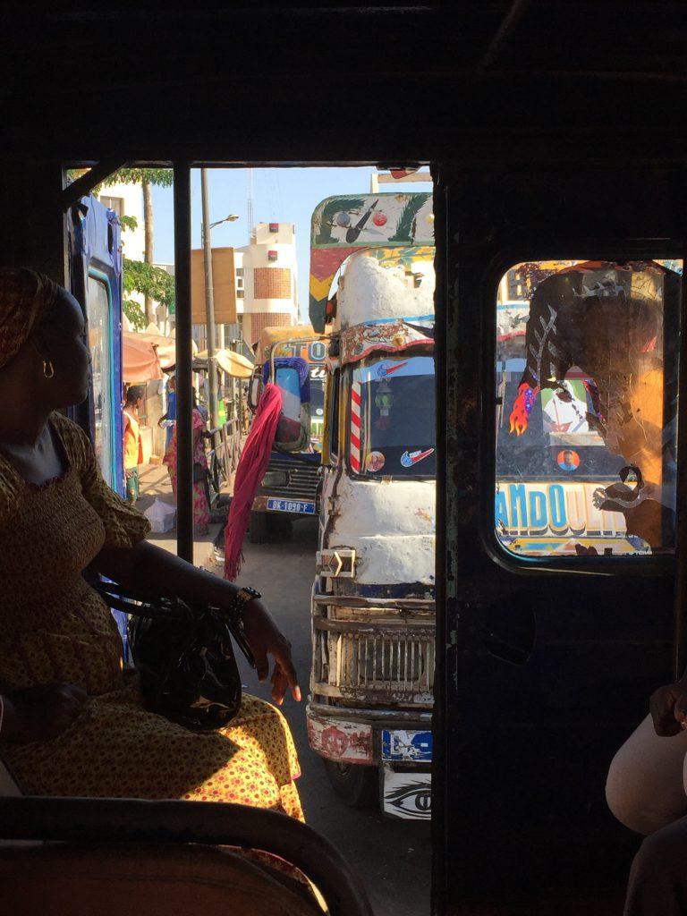 Senegal Dakar en omgeving: lokaal transport Duurzaam reizen TravelRebel