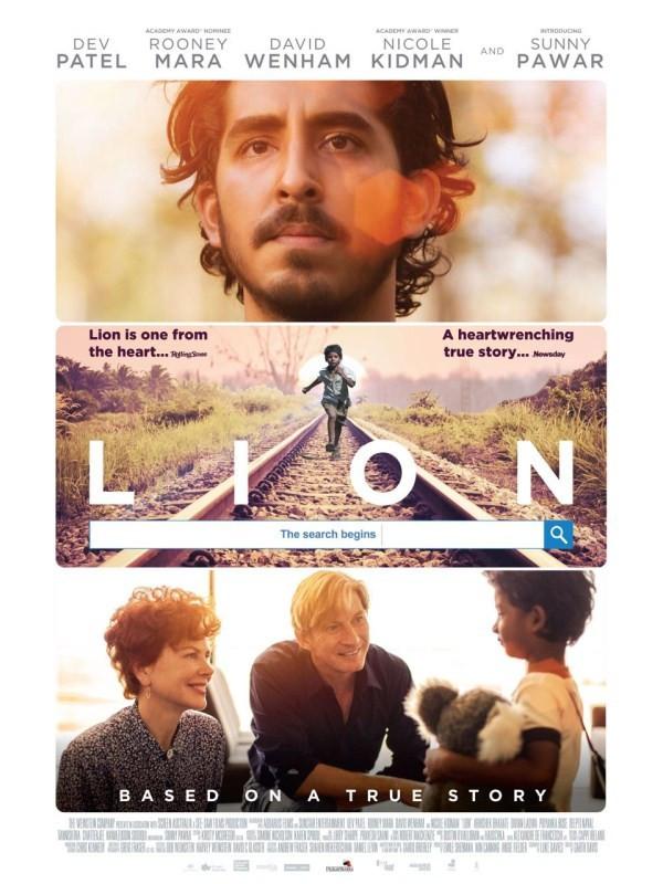 Lion - beste reis films inspiratie