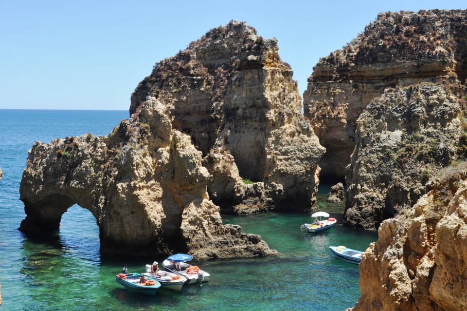 Ponte da Piedade Algarve Portugal Massatoerisme