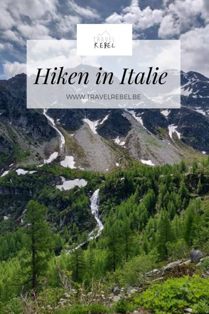 Hiken in Italy - Sustainable Tourism - Pinterest template - Mountain views