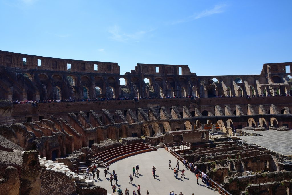Colosseum Rome  - Over-tourism in Italy