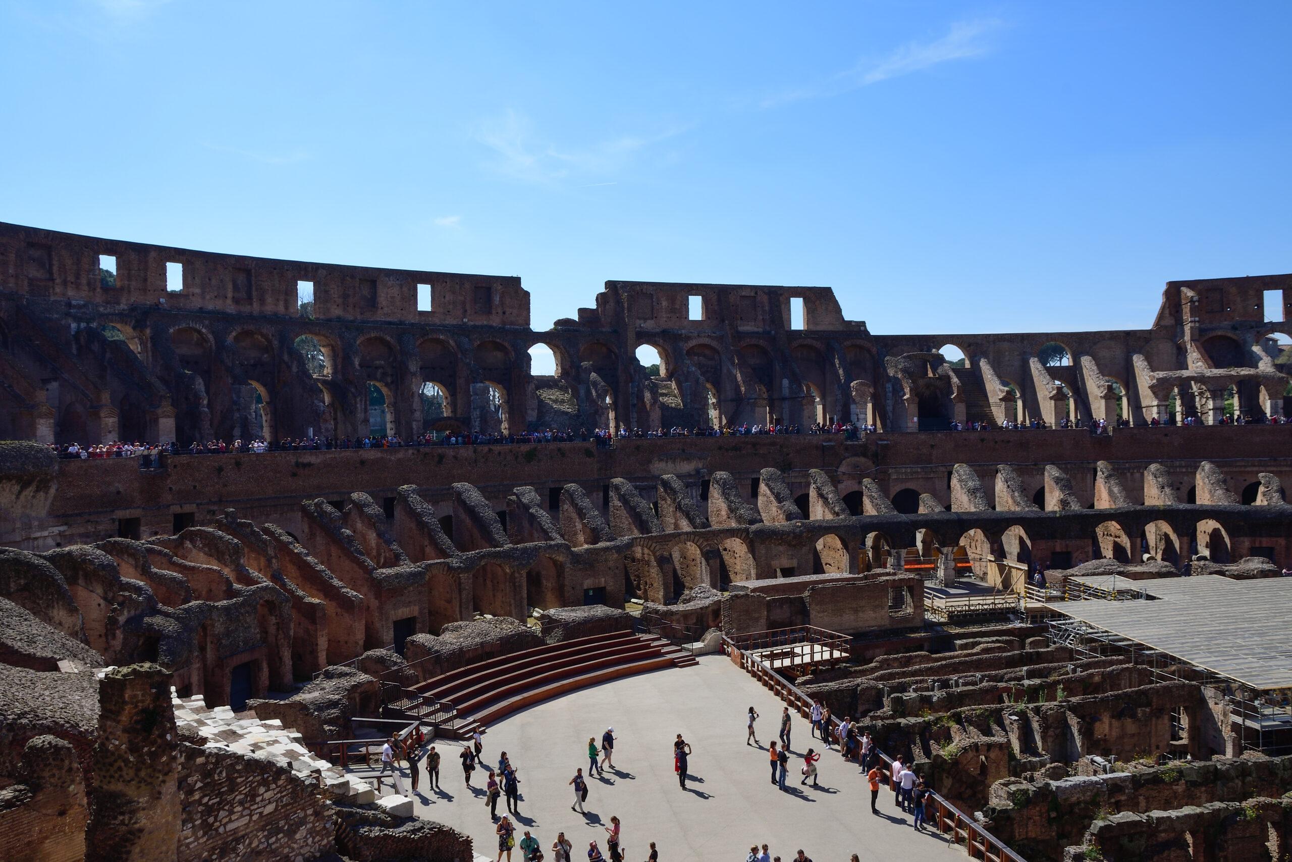 Colosseum Rome - Overtoerisme in Italië