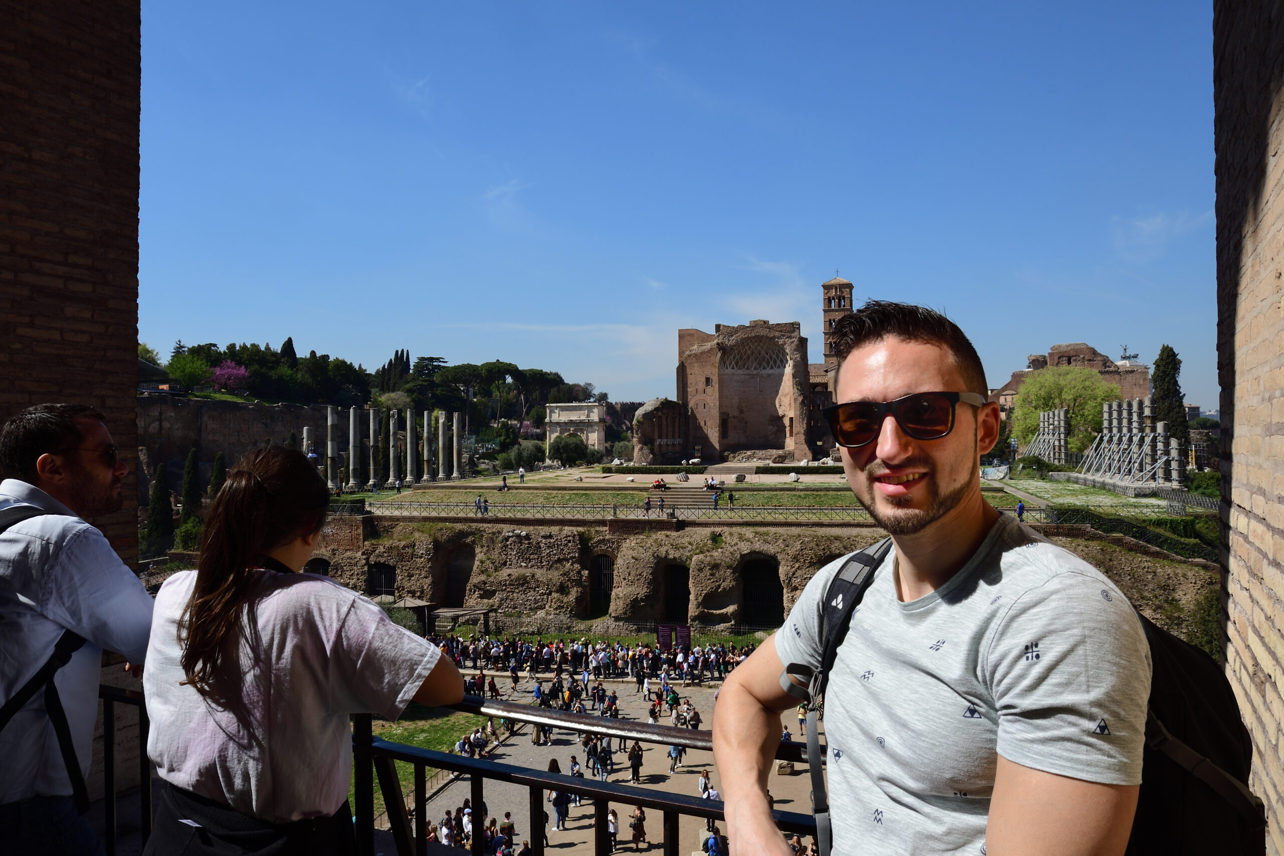 Over-tourism in Rome