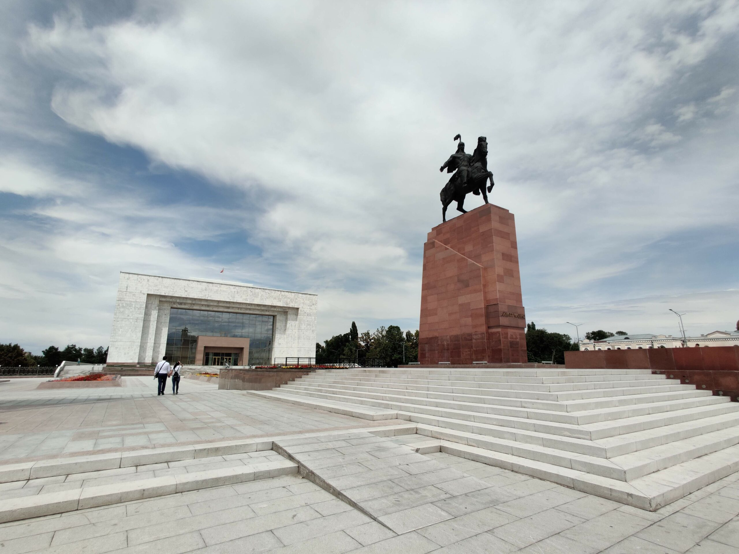 Rondreis Kirgizië 18 dagen - Ala Too Square – Bishkek (hoofdstad)