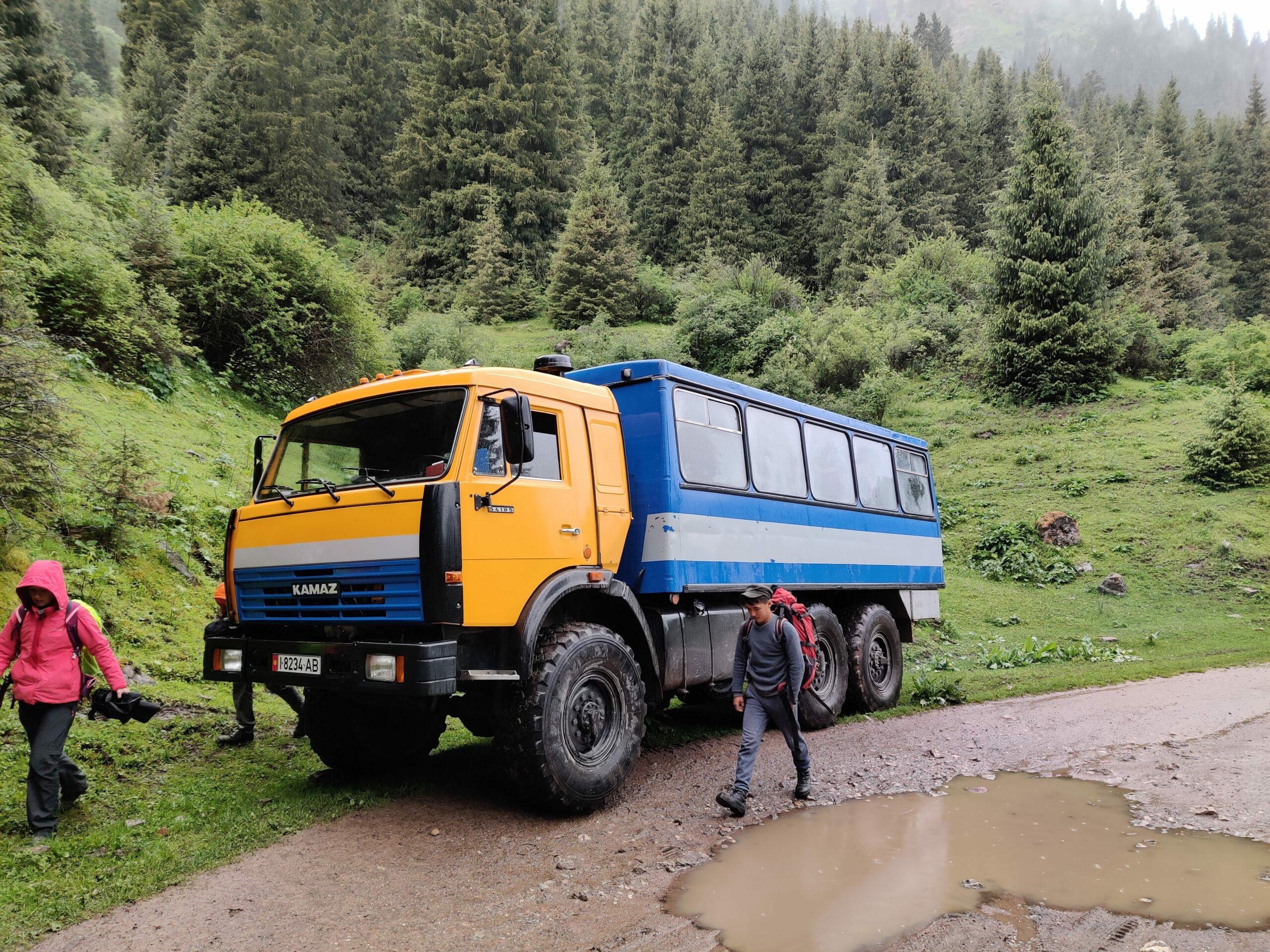 Transport in Kirgistan - Rondreis Kirgizië in 18 dagen