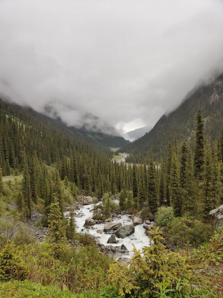 4 daagse trektocht in Kirgizië naar Ala Kul meer