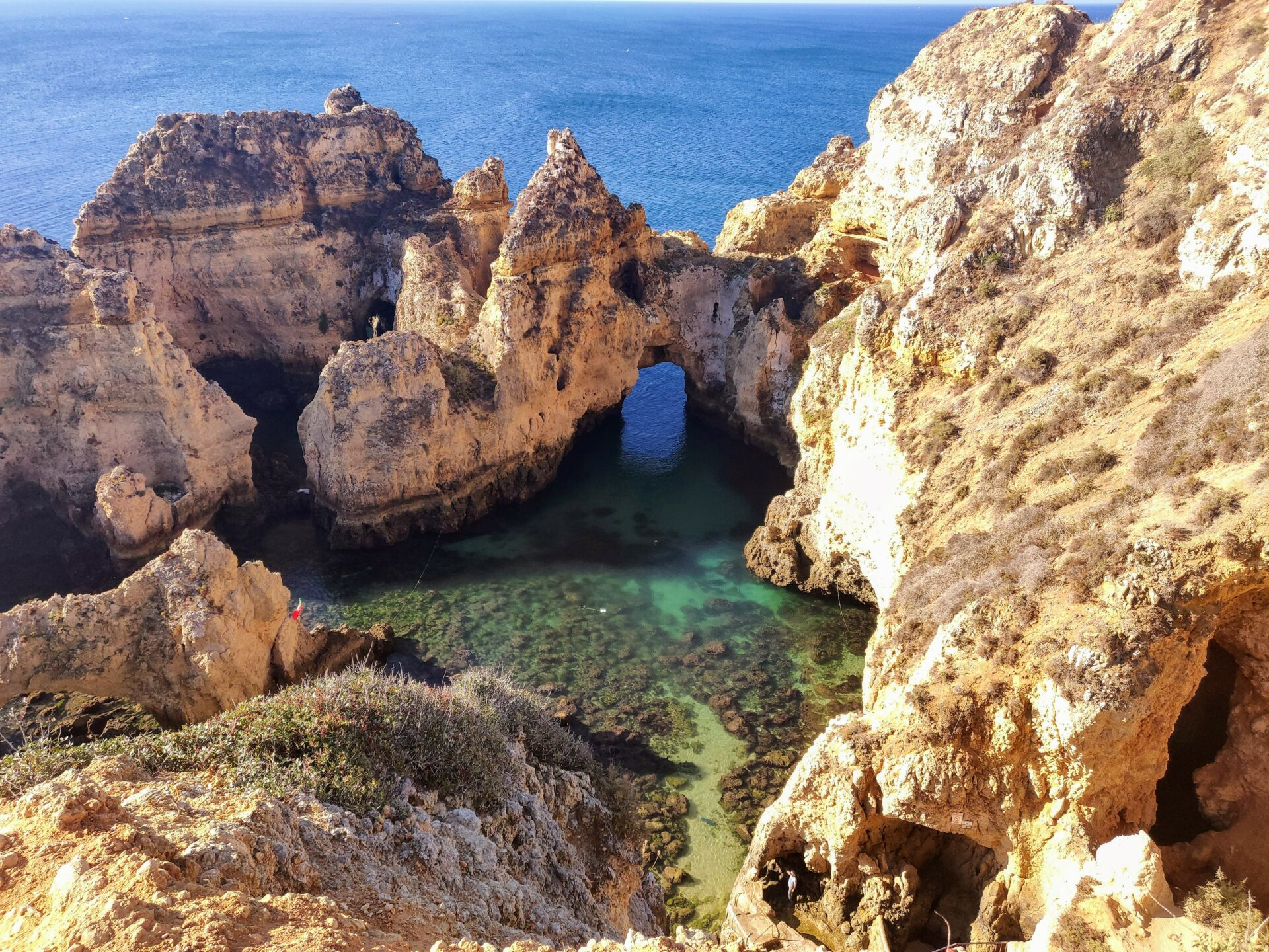 Ponta Da Piedade in Lagos, in the Algarve region
