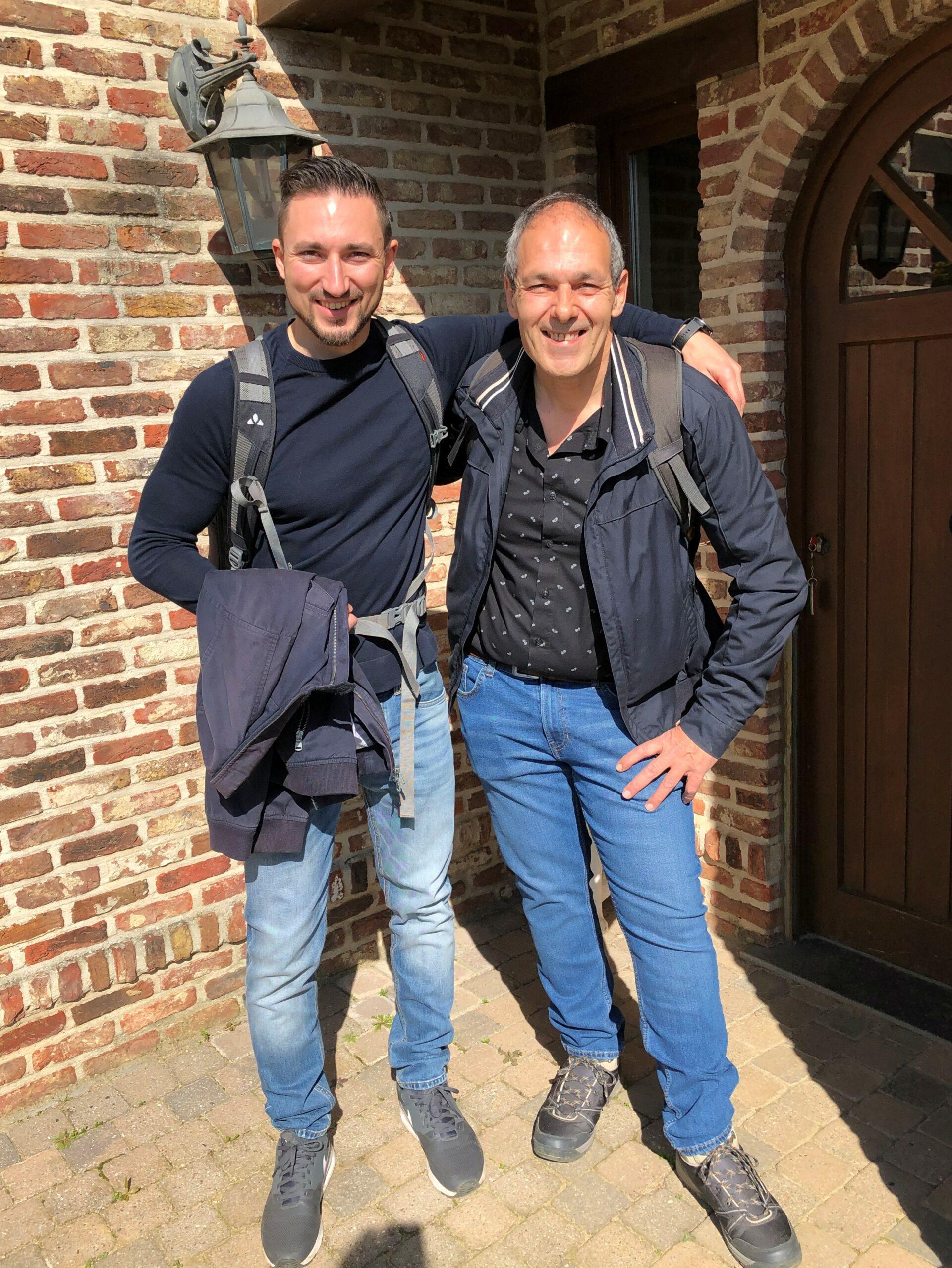 Vader en zoon op citytrip in Rome