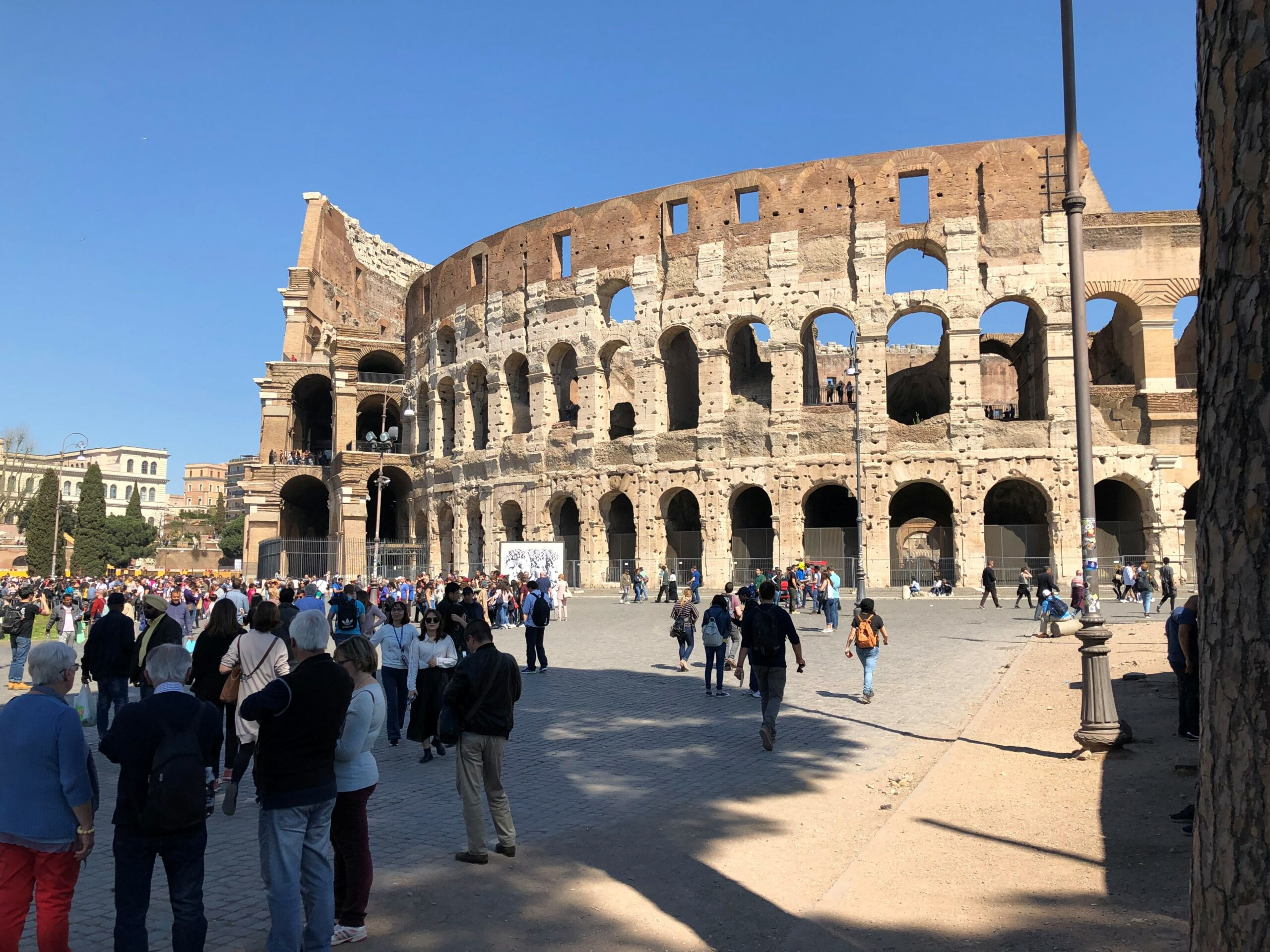 Overtoerisme in Rome - Colosseum