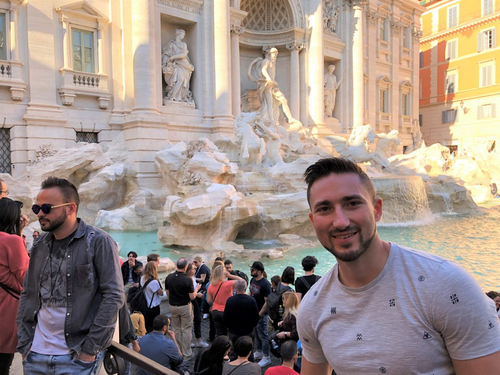 Guestblogger Siemon experiencing over-tourism in Rome