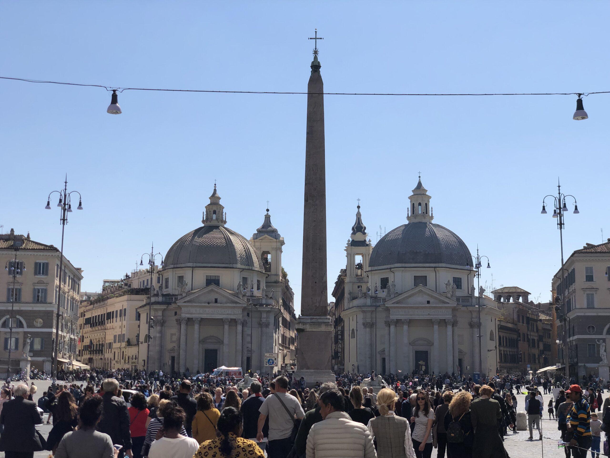 Overtoerisme in Rome
