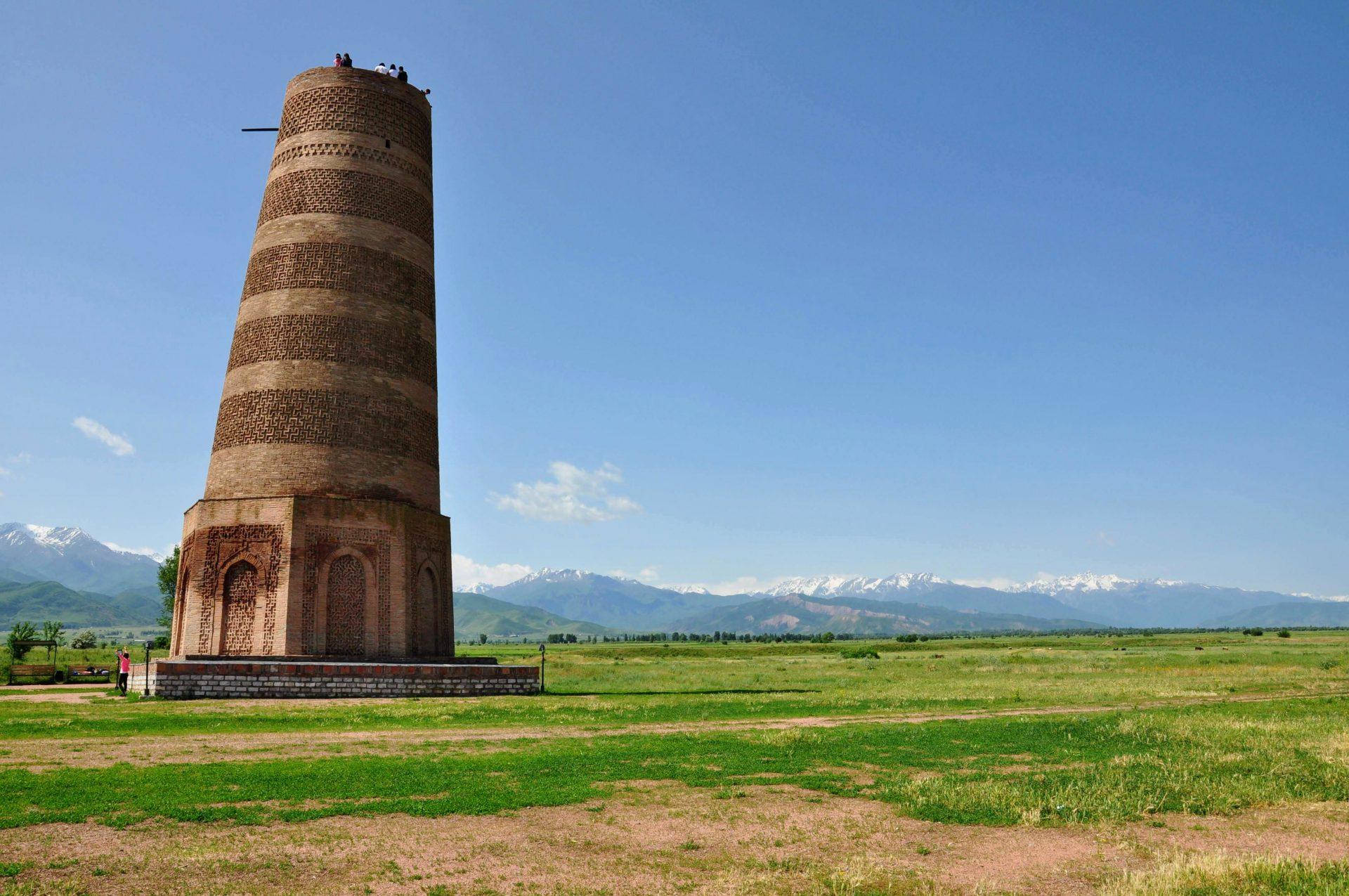 Rondreis Kirgizië - Burana Tower - Minaret
