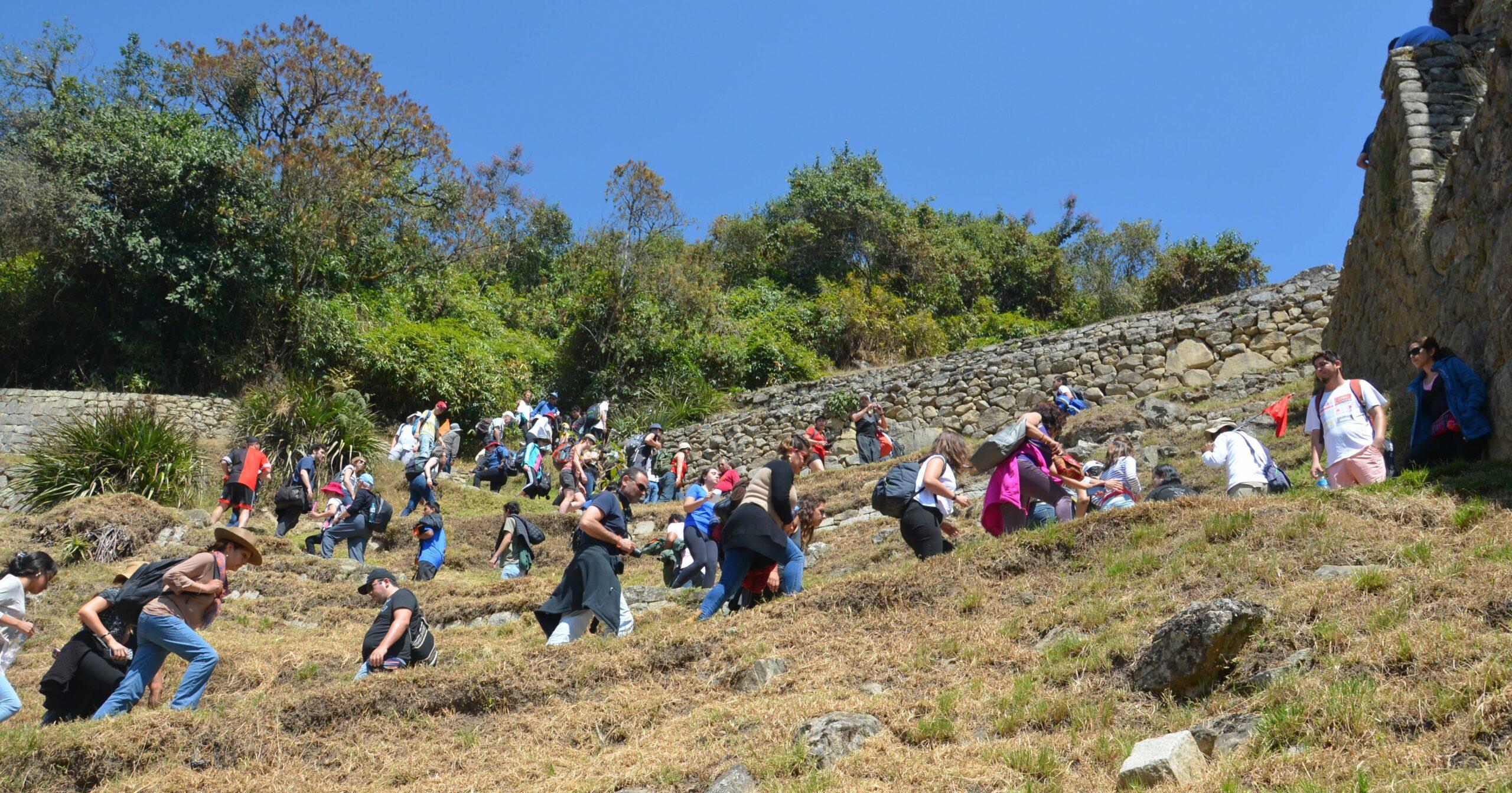 Machu_Picchu Massatoerisme in Peru