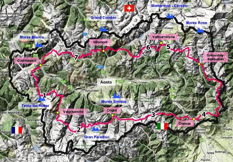 Hiking in Val d'Aosta - Hiking trails - Europe best hikes