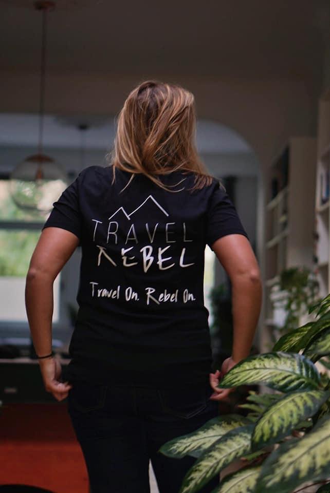 Sustainable T-shirt, eco ink, eco cotton, TravelRebel, Sustainable Tourism, Travelblogger