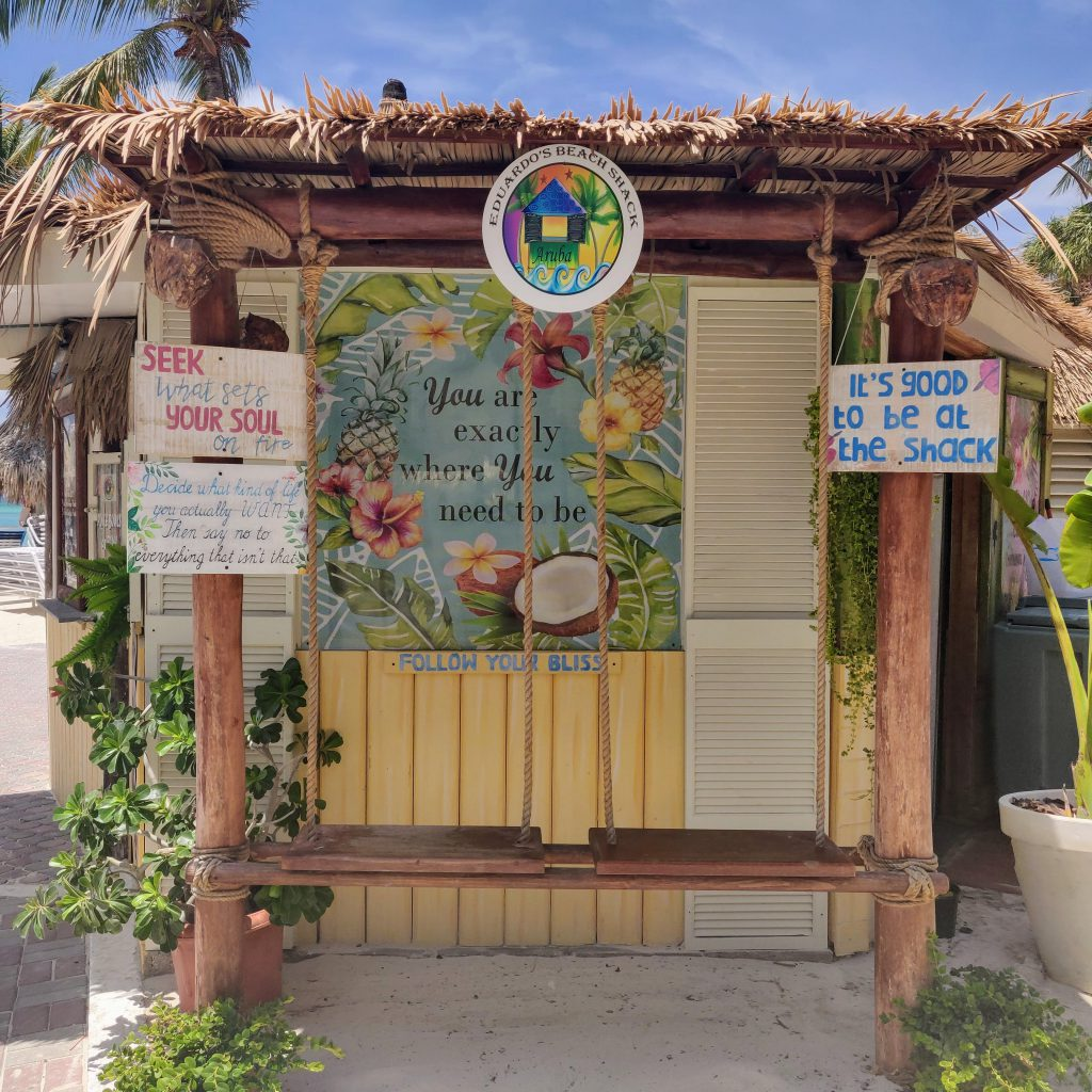 Aruba leuke duurzame eetadresjes TravelRebel