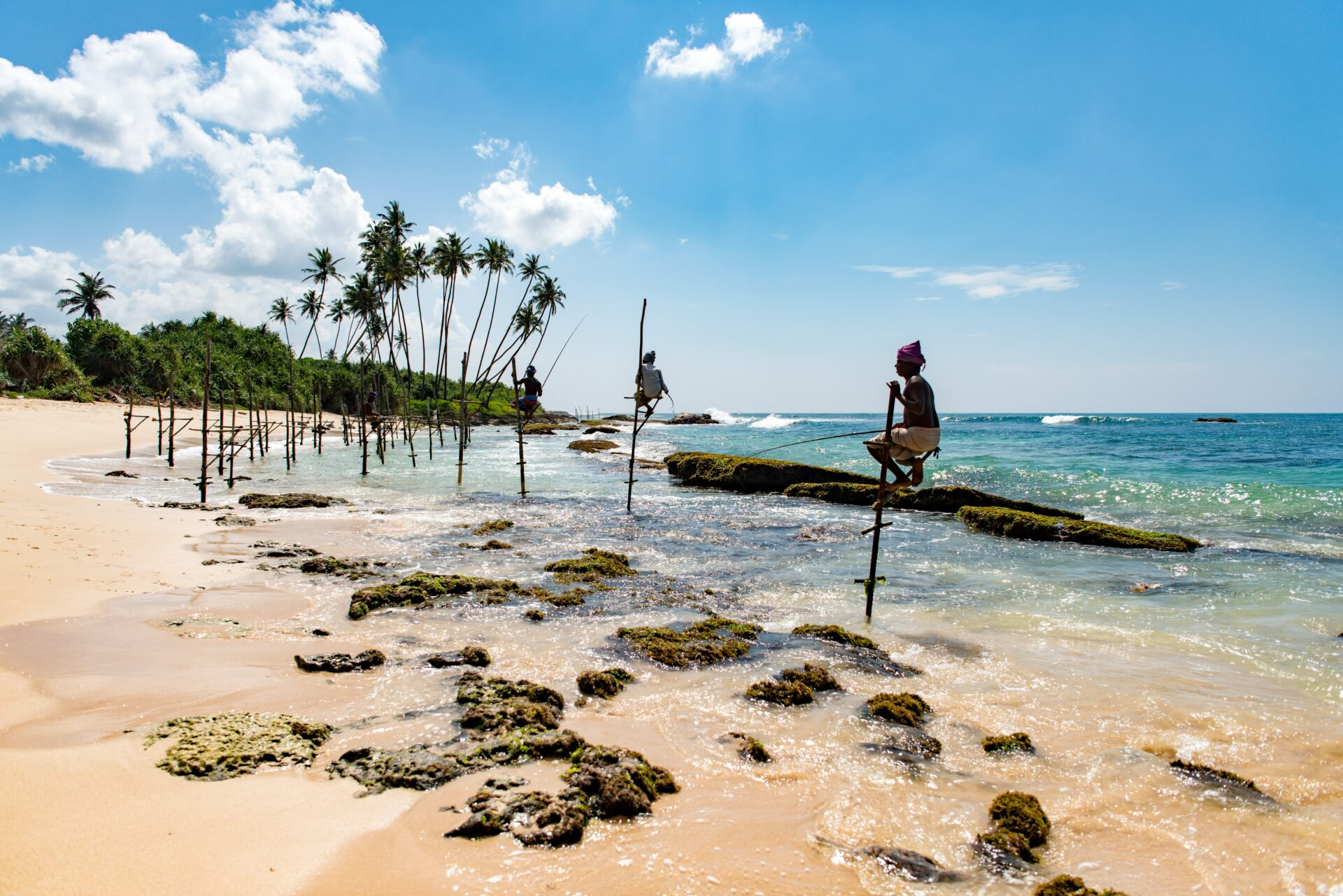 Stokvissers in Sri Lanka - duurzaam reizen - TravelRebel