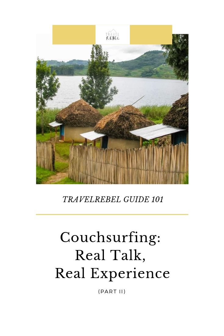 TRAVELREBEL GUIDE: COUCH SURFING SUSTAINABLE TOURISM