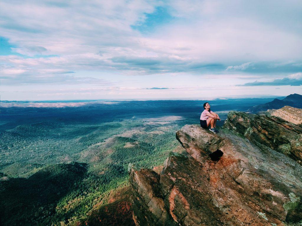 Gast reisblogger Djoelie Ectors in Flinders Ranges